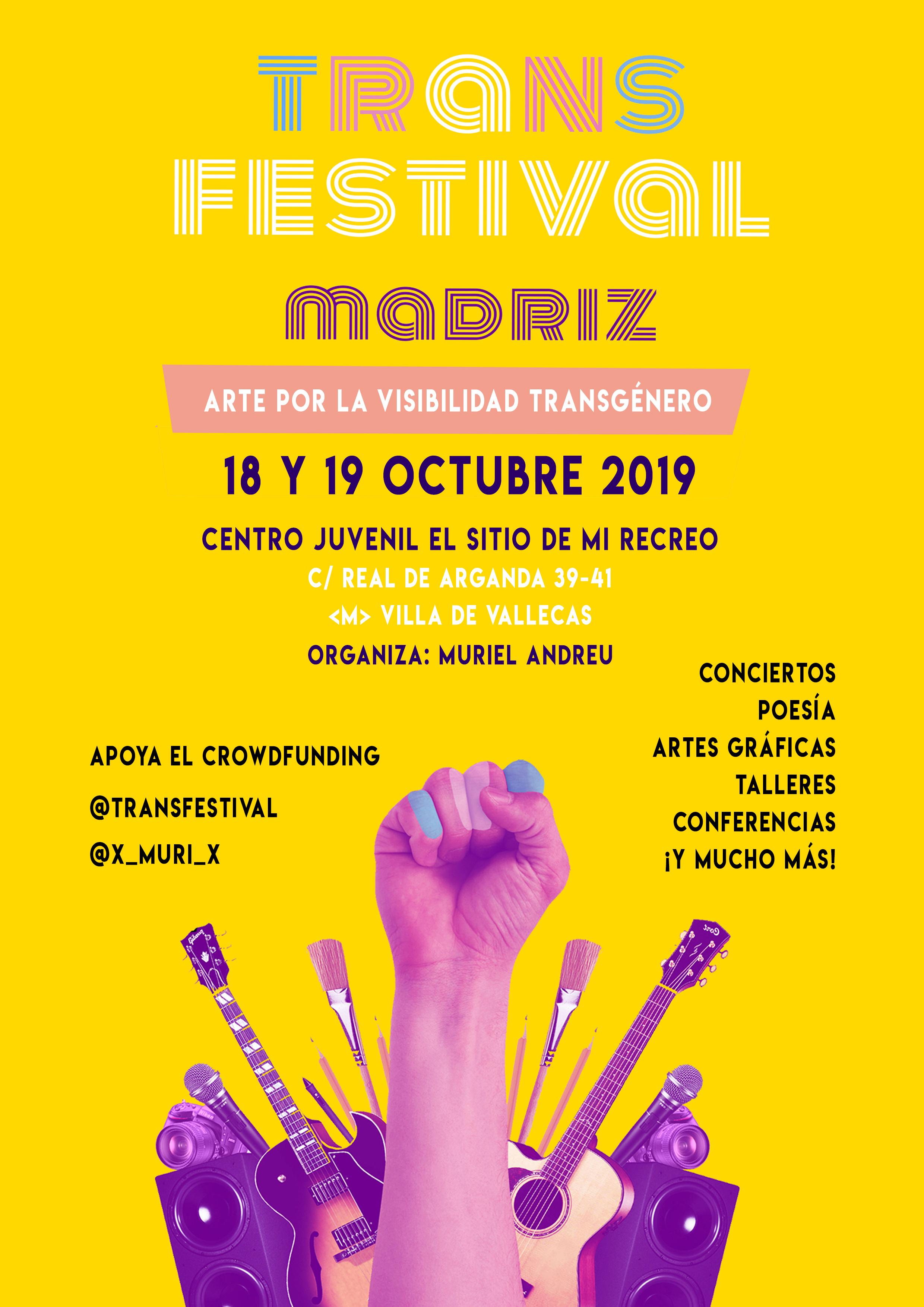 cartel transfestival muriel