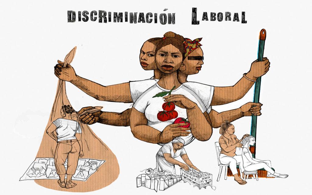 """Ilustración de @lamarimuriel para """"Derribando Fronteras"""""""