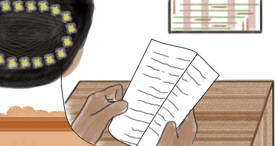 La carta ilustración