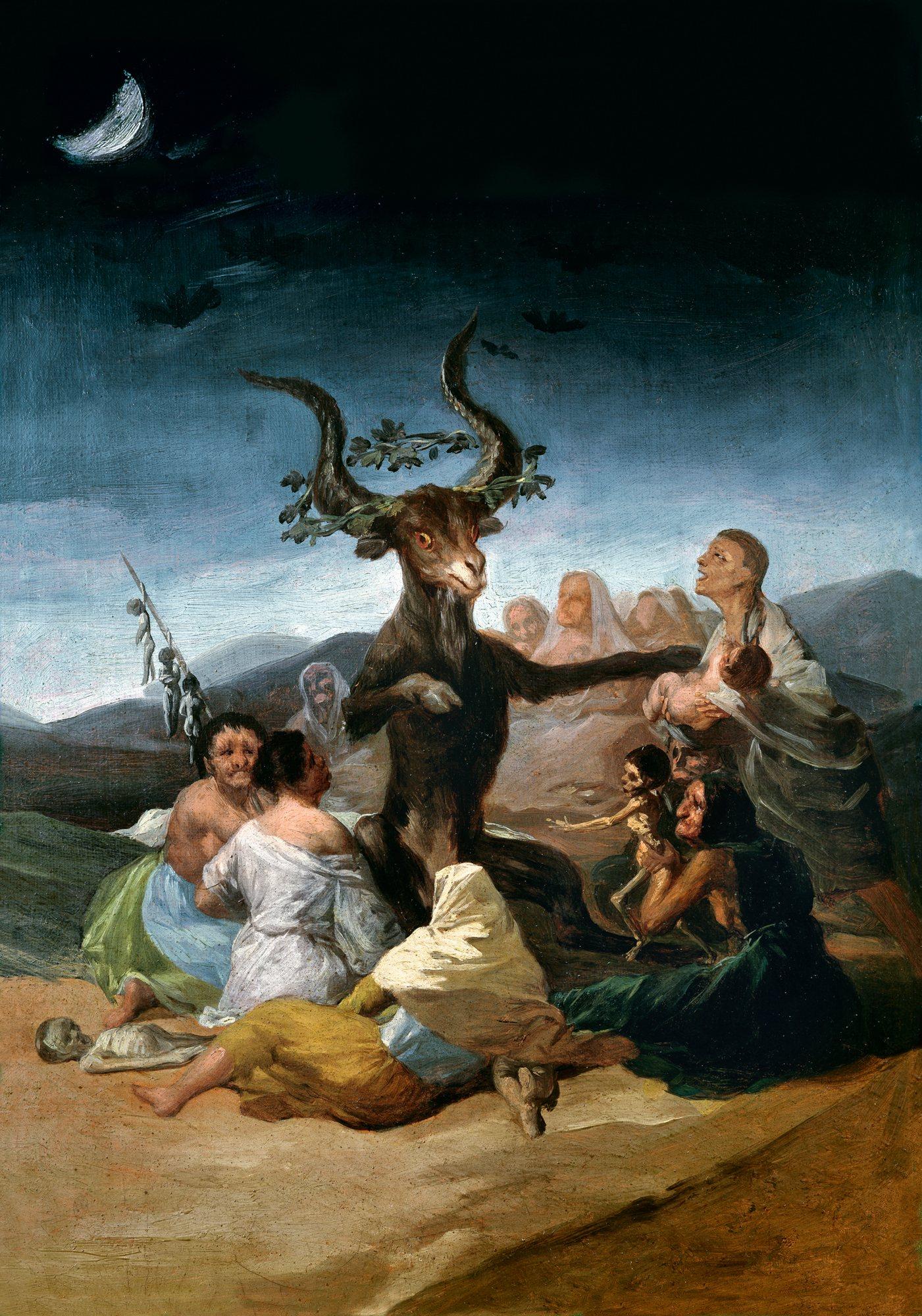 Aquelarre de Goya. Fuente: Internet.